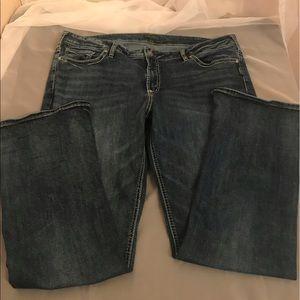 Silver sz 22 women's jeans